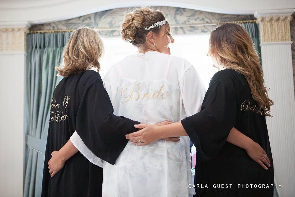 8d4d4566fe Personalised Bride, Bridesmaid, Hen Party Kaftan / Beach Cover up ...