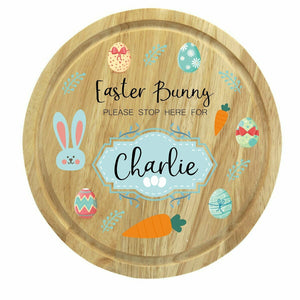 Easter Printed Round Board - Design 8