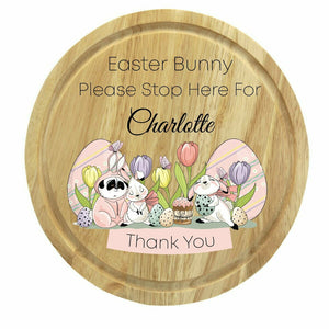 Easter Printed Round Board - Design 3