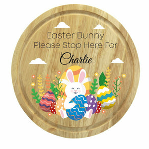 Easter Printed Round Board - Design 5