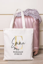 GoldBlush initial Personalised Tote Bag