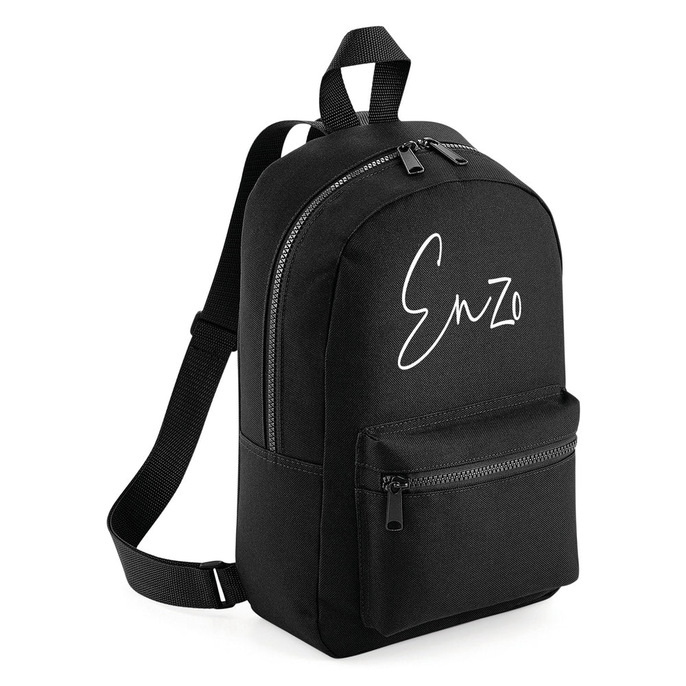 Signature Mini Backpack - Black