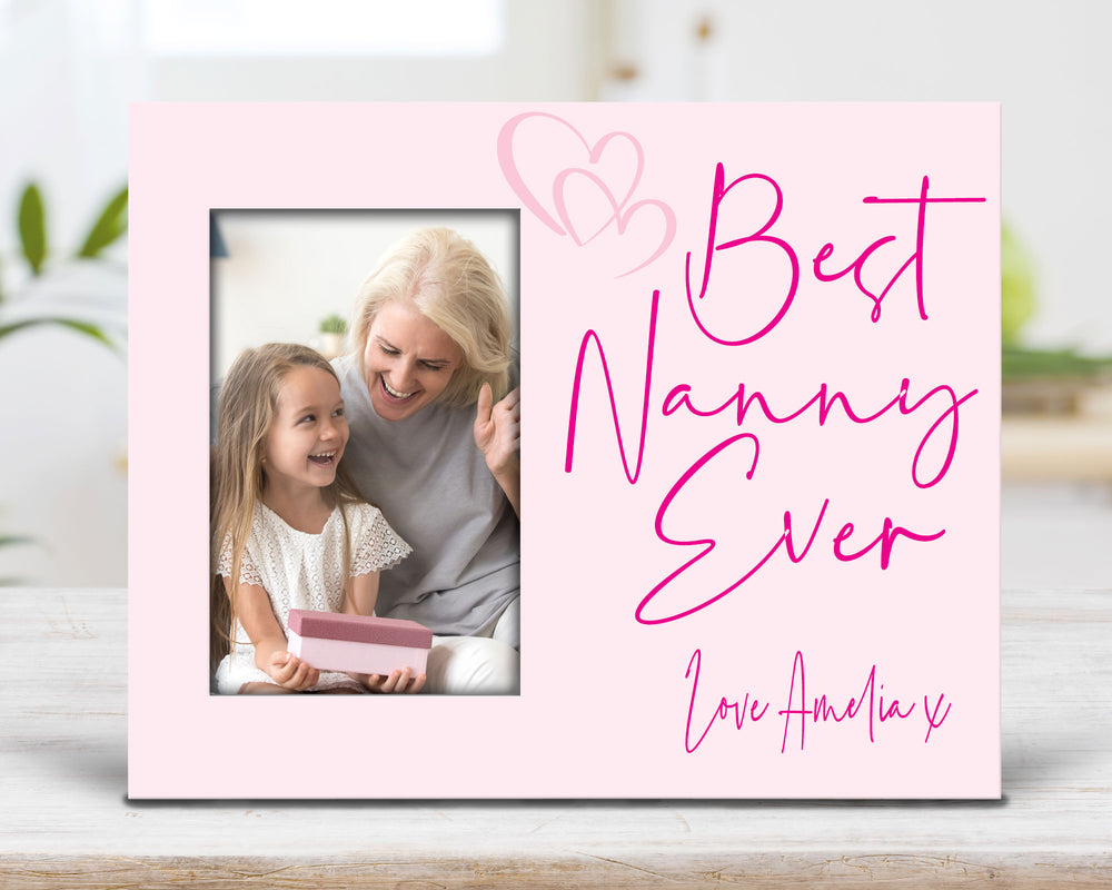 Personalised Best Ever Photo frame