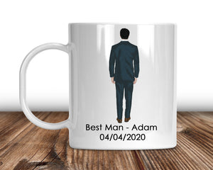 Groomsman Personalised Mug
