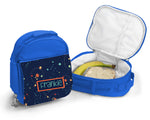 Blue Personalised Lunch Bag - Space