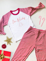Christmas Believe Personalised Pyjamas