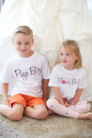 Page Boy T-shirt - Personalised