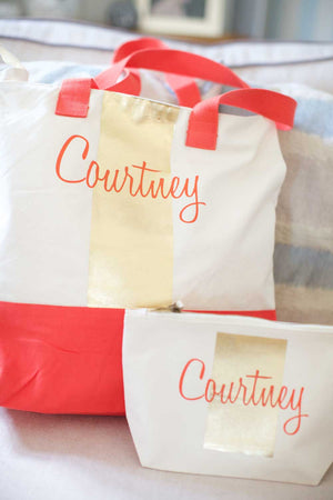 Personalised Pouch Bag