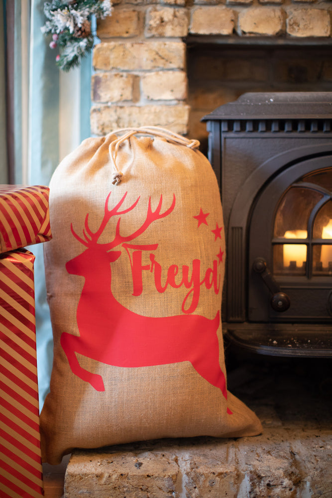 Extra Large Christmas Jute Sack