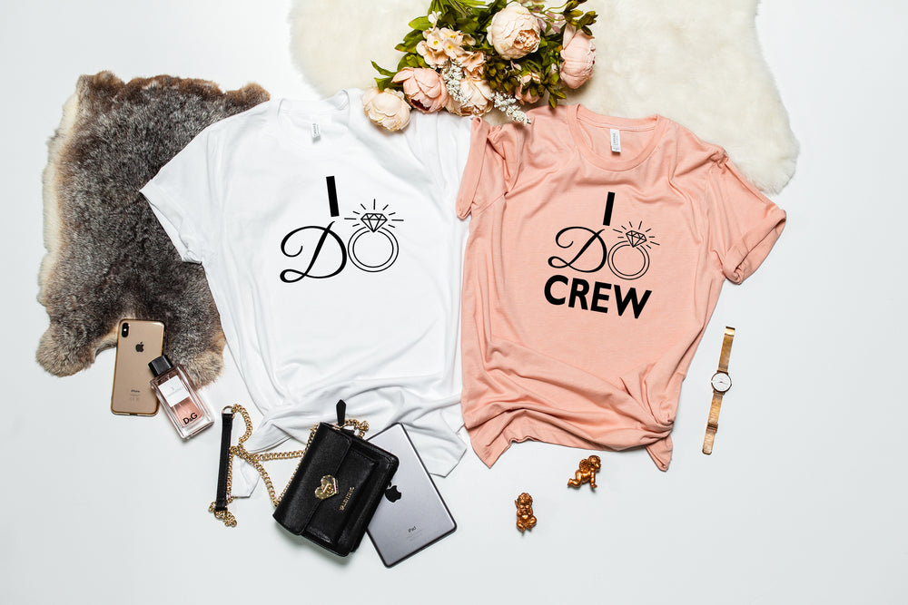 Personalised I Do Crew T-Shirt