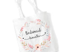 Floral Personalised Tote Bag