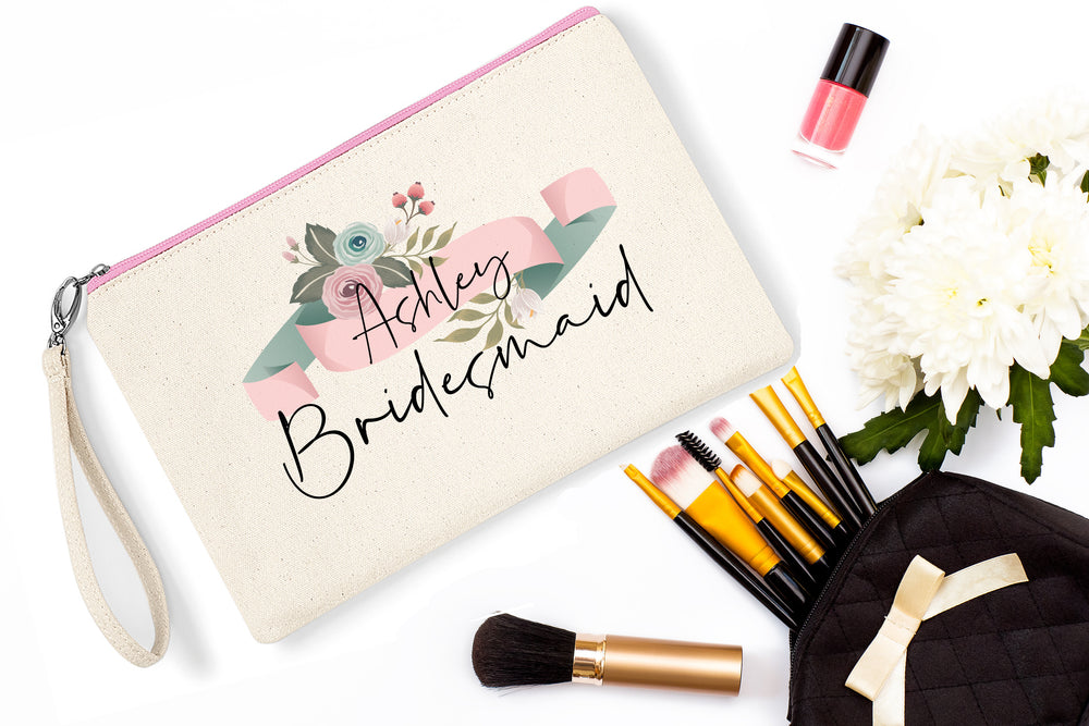 Florence Personalised Make Up Bag