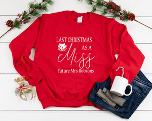 Last Christmas As a Miss Sweater
