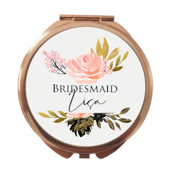 GoldBlush Rose Gold Mirror