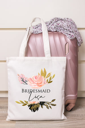 GoldBlush Personalised Tote Bag