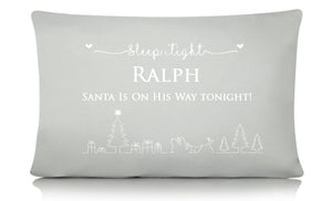 Sleep Tight Christmas Pillow Case