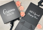 Black Personalised Gift Box