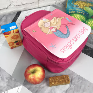 Child's Personalised Lunch Bag