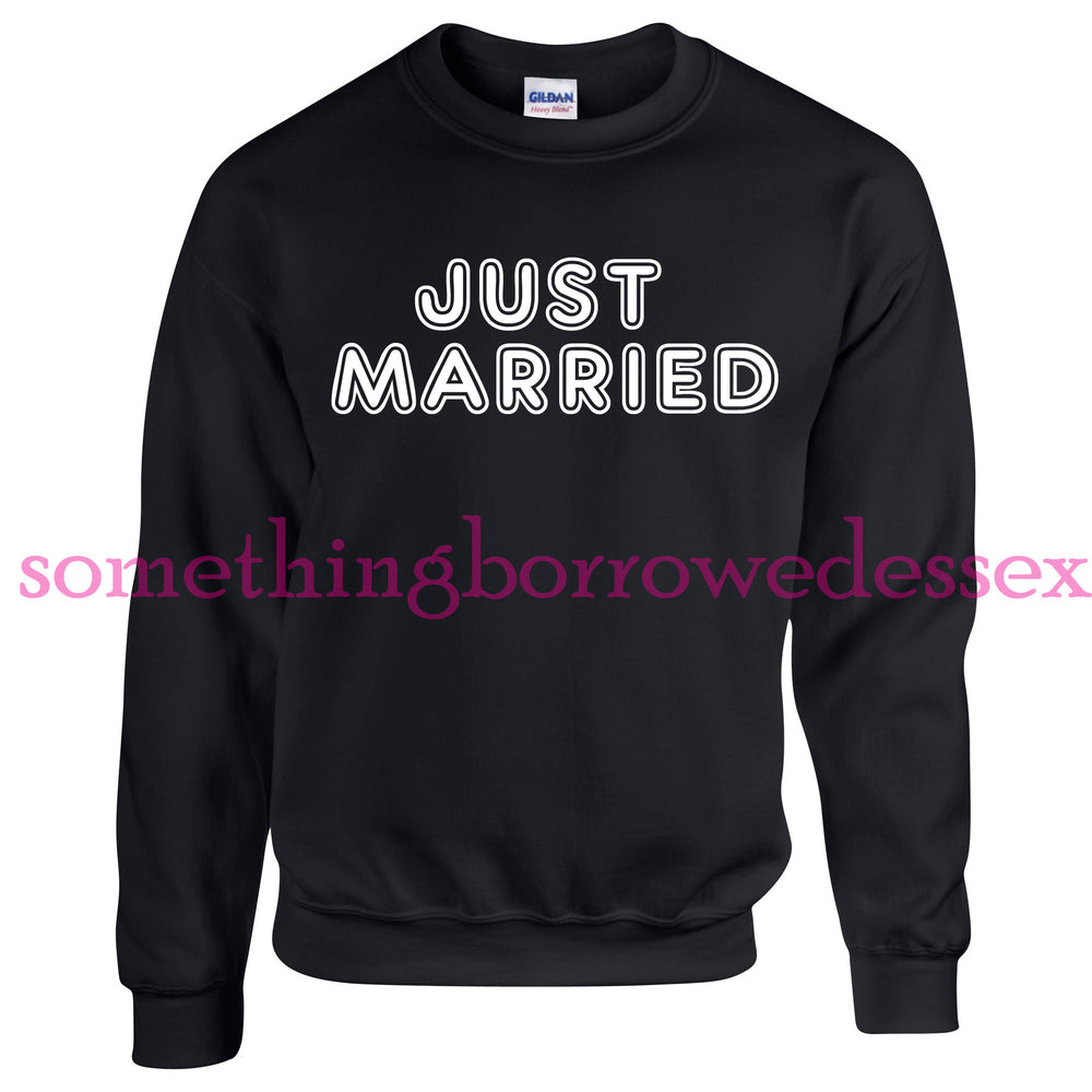 Just Married Unisex Jumpers