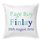 Page Boy Cushion