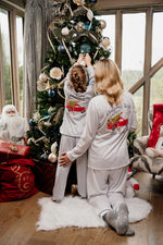 Family Christmas Truck Cotton Piped Pyjamas