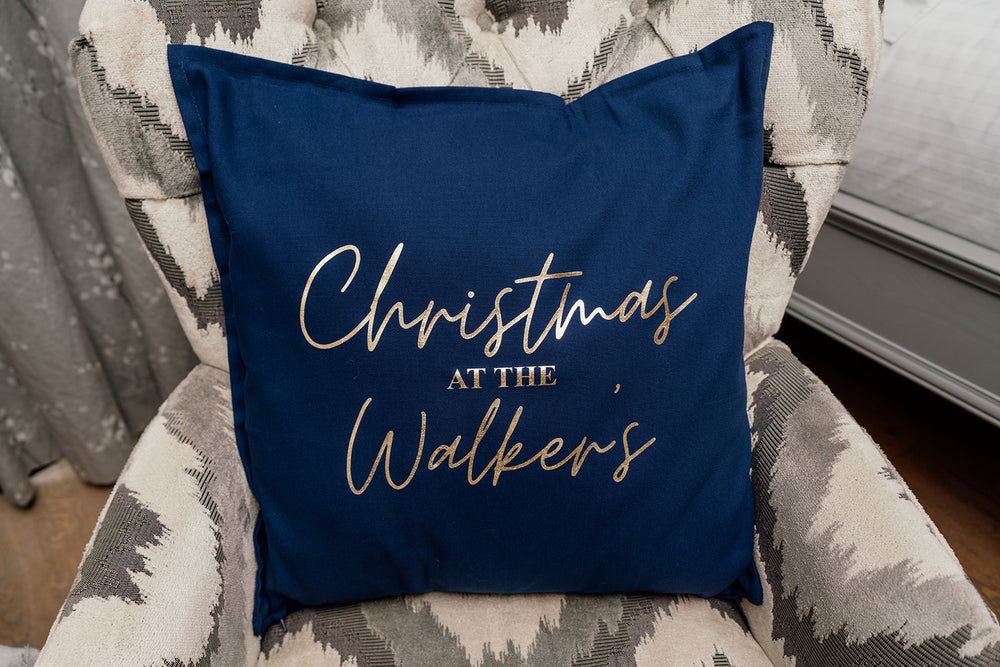 Christmas With The .... Cushion
