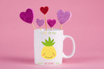 I Pine For You Valentines Mug