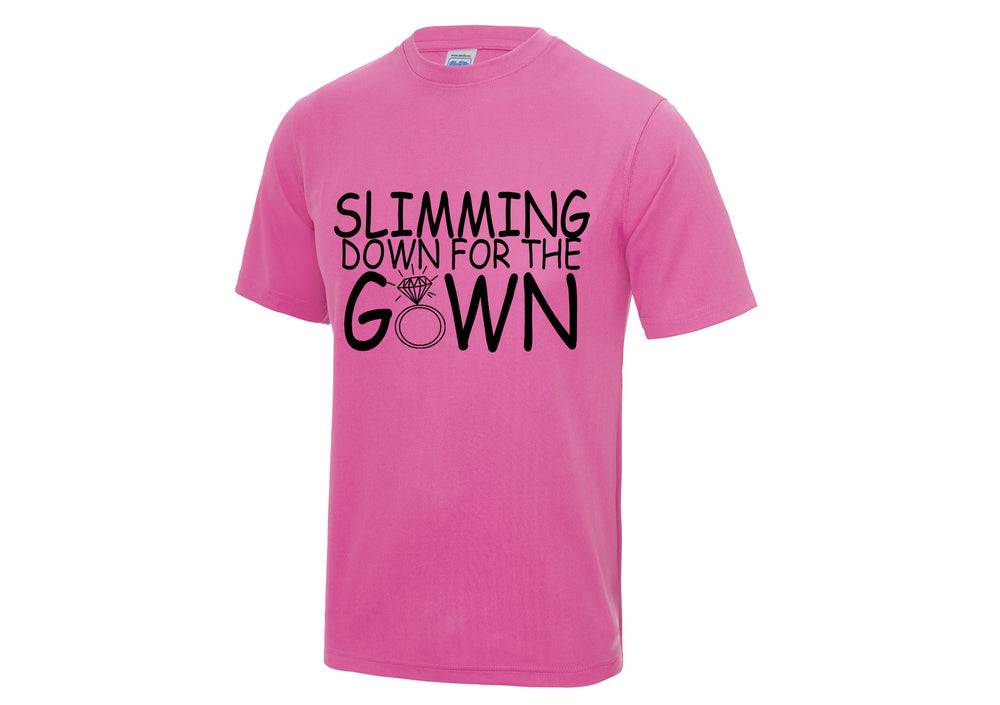 Slimming Down For The Gown - T-shirt