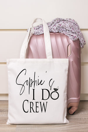 I Do Crew Personalised Tote Bag