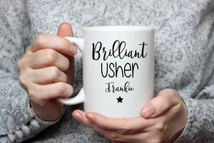 Personalised Brilliant Wedding  Mug