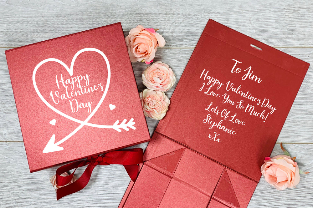 Personalised Valentine's Day Gift Box