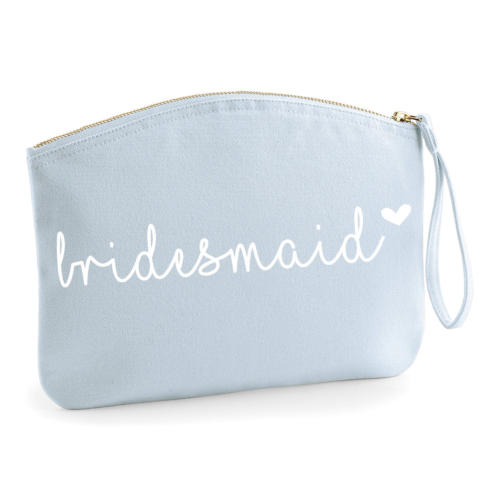 Wedding Wrist Pouchet - Pastel Blue