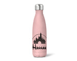 Insulated Personalised Walt Castle Bottle