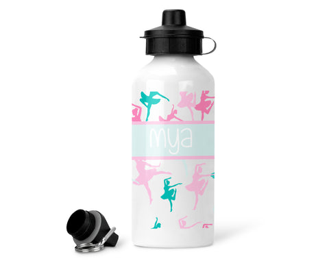 Personalised Water Bottle - Ballet