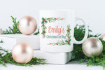 Christmas Eve Wreath Mug