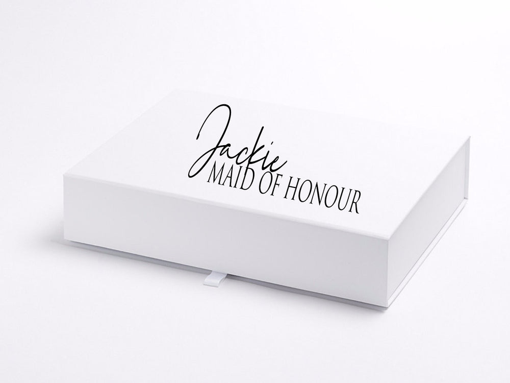 Shallow Personalised Gift Box