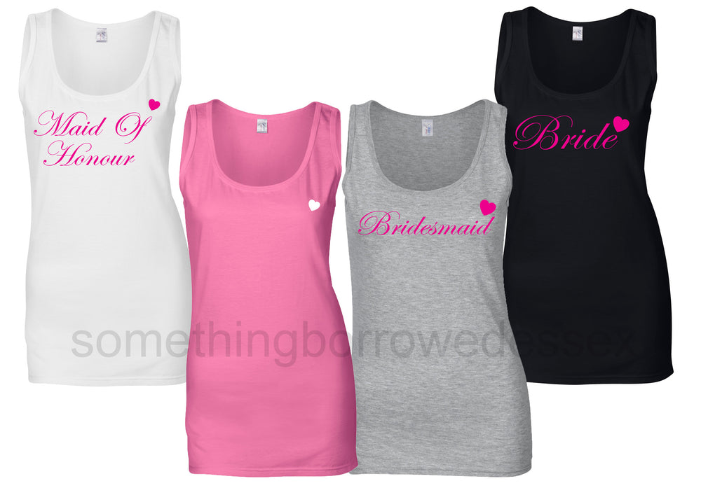 Wedding Vest Top