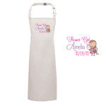 Flower Girl Personalised Carton Apron