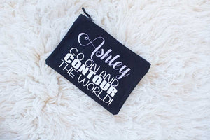 Go on and Contour the World! Make up Bag