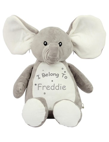 'I Belong To' Personalised Elephant