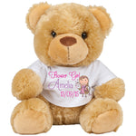 Plush brown Girls Bear