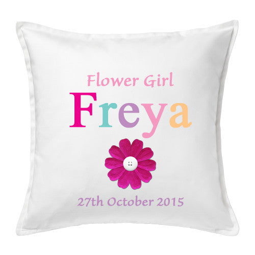 Flower Girl Cushion