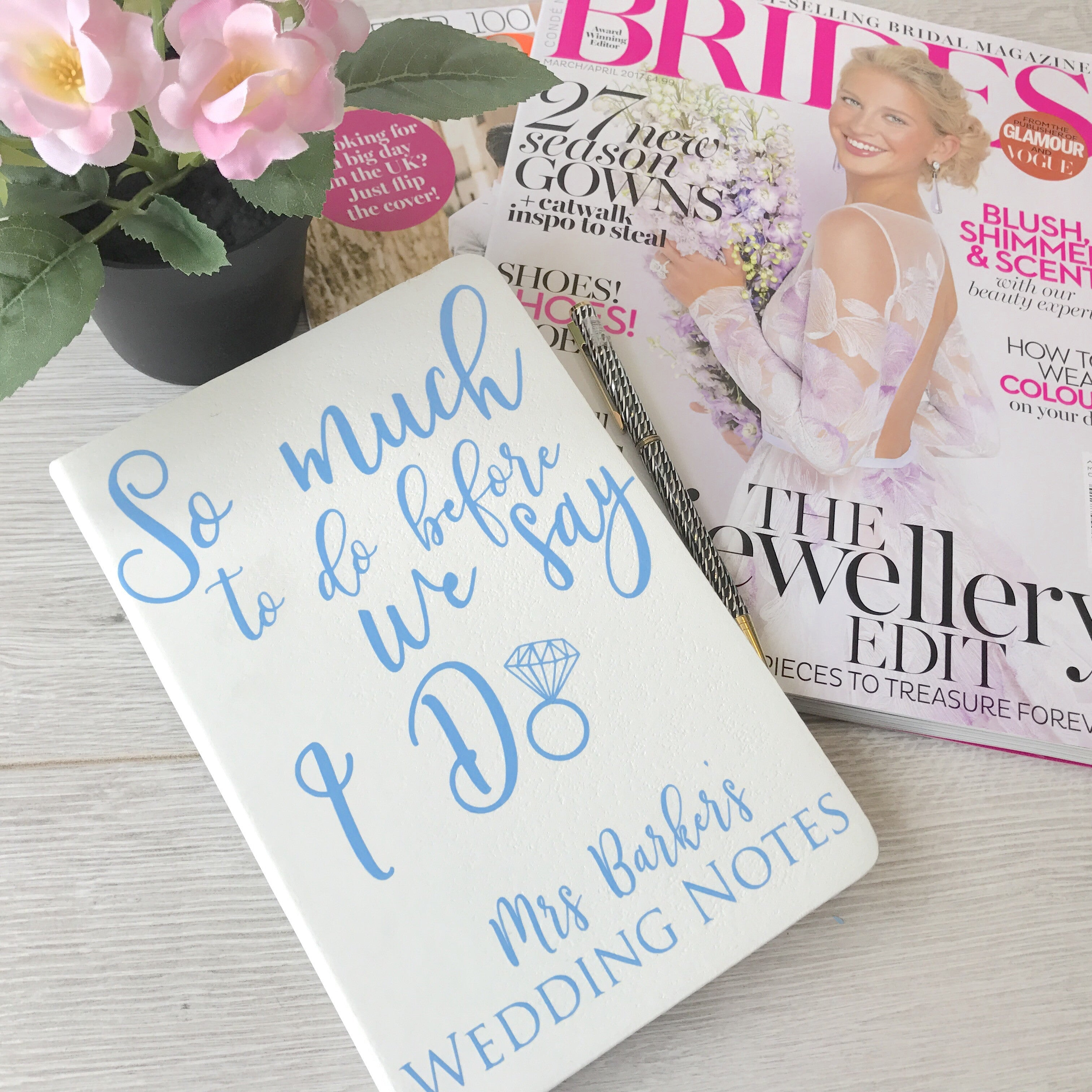 so much to do before we say i do wedding notebook