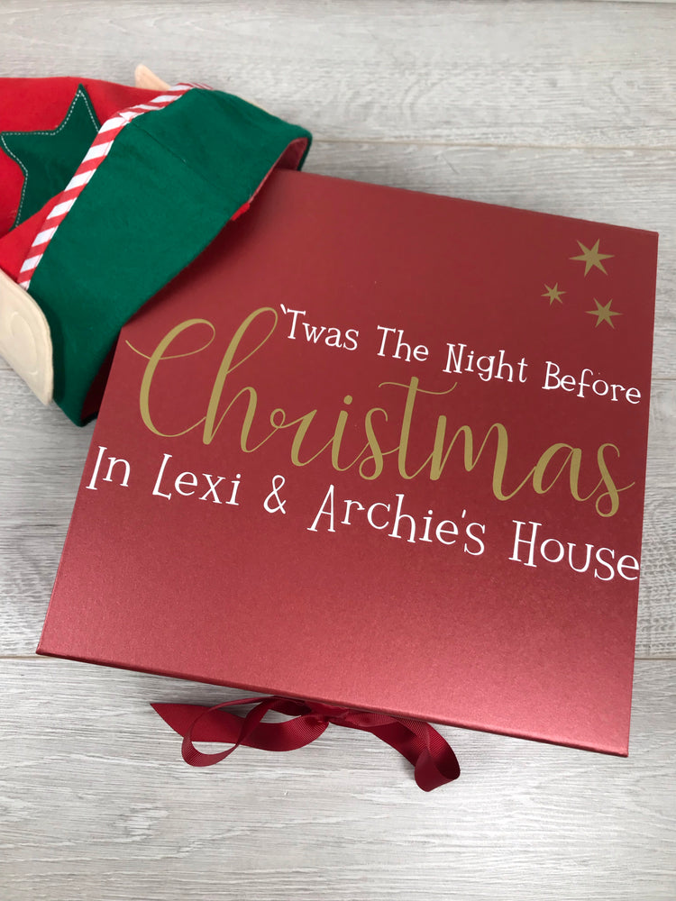 Personalised 'Twas the Night Before Christmas Box