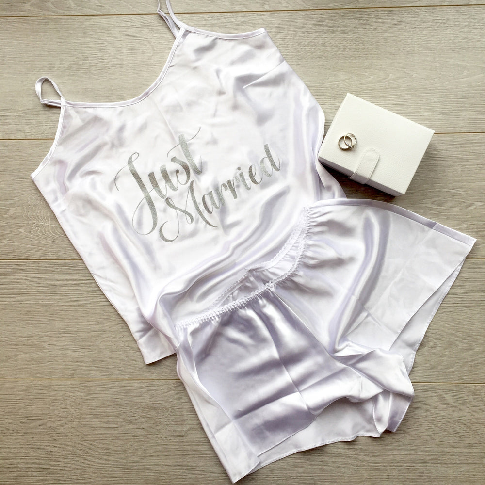 Just Married Cami Set