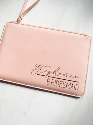 Bridal Party Boutique Clutch Bag