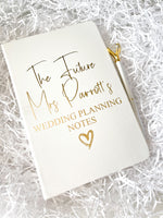 White Future Mrs Personalised Notebook