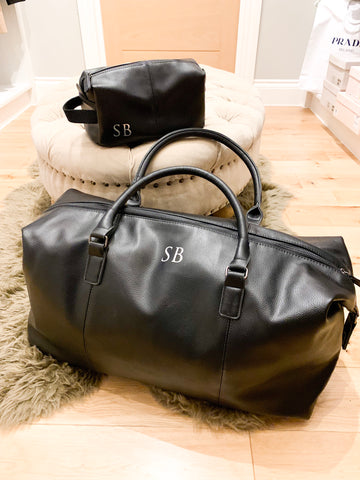 Monogrammed Weekend Bag