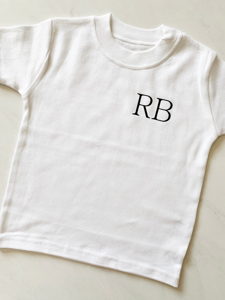 Monogrammed Children's T-Shirt