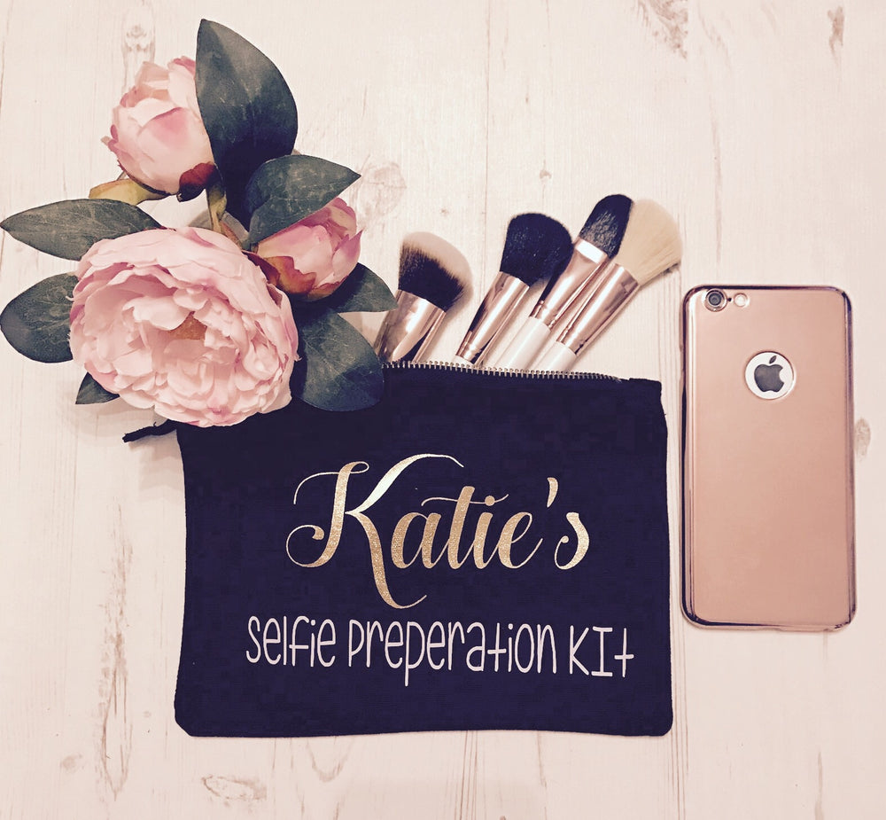 Selfie Prepartion Kit Make up Bag